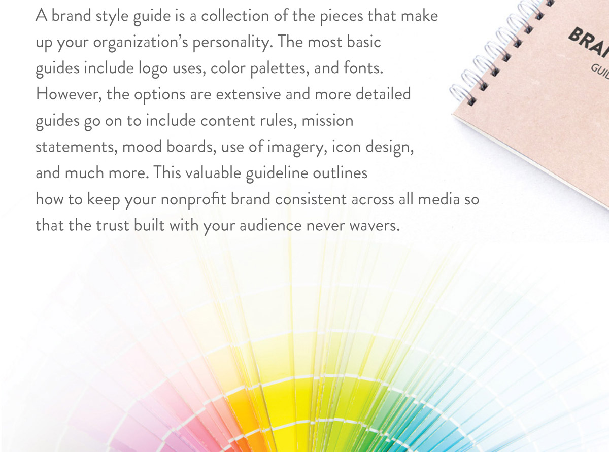 Importance of a brand style guide page 1