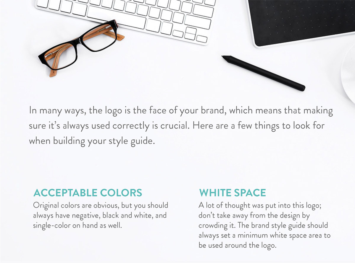 Importance of a brand style guide page 2