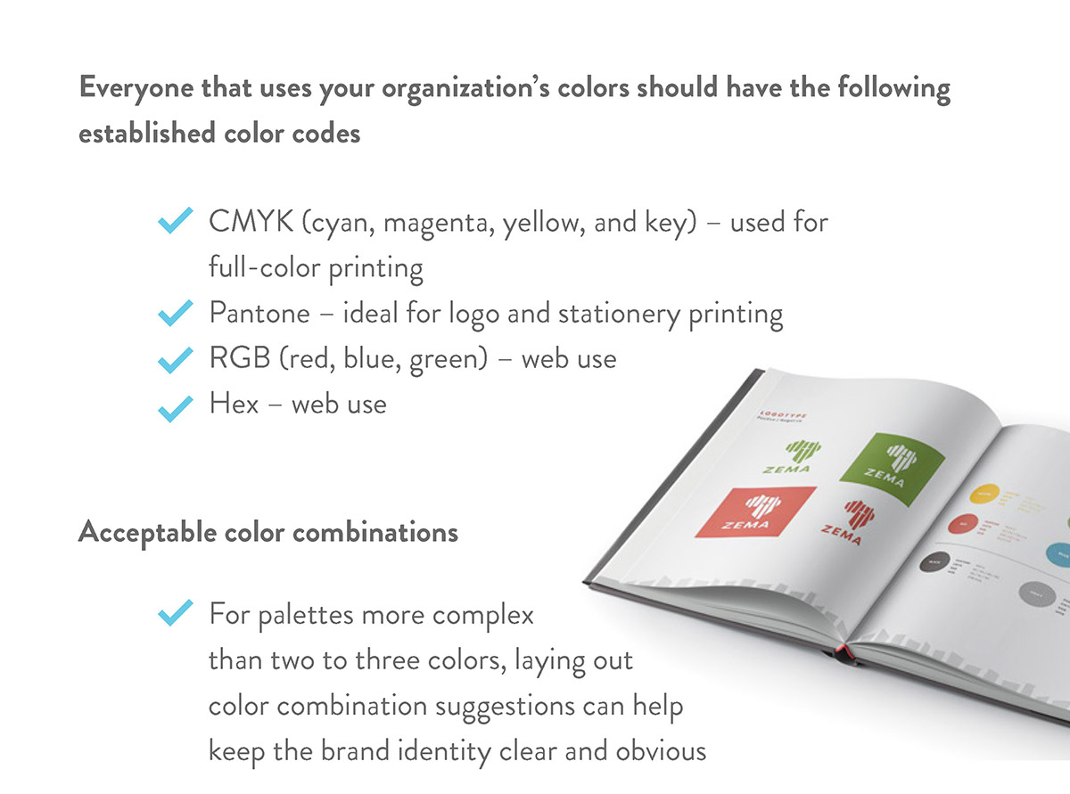 Importance of a brand style guide page 3